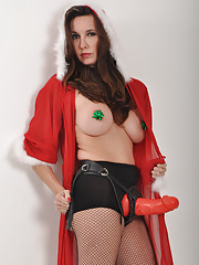 Its Christmas time and only Strapon Jane can tell you if youve been good or naughty!