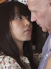 Any old guy would love to have a student like young Marica. This Asian beauty doesnt