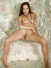 Sultry Dominika A bares her tight body and sweet pussy in front of the camera.