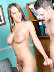 Trina Michaels takes care of her much younger willing man