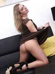 Danielle is a hot trim package a blonde beauty from Russia. She is a real little