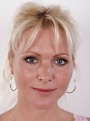 Would you say this blonde MILF has ever starred in porn? That she filmed countless