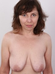 Marcela enjoyed every minute of the casting. This lovely 48-year-old lady was more