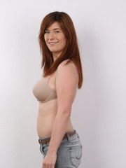 Martina came to pose for artistic photos. With a touch of seductiveness but completely