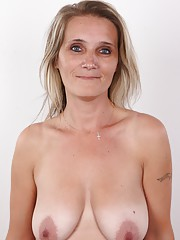Enjoy the special menu for MILF lovers. Monika is a regular Czech lady who takes