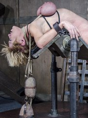 Dee Williams has made it through to the third portion of her live feed at RealTimeBondage.com.