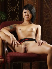 Petite Asian Saya Song Stretches Her Pussy Around Huge Cock.