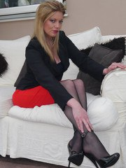 Dr Holly specialises in sexual therapy and fetish so you need to come to her in full