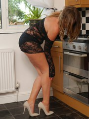 Gorgeous Debbie will have you reaching inside your trousers when you see her in her