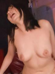 Megumi Haruka Asian gets cum in pussy from dick she sucked well