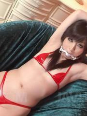 Asuka Mimi Asian has hairy cunt fingered licked and rubbed