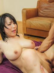Yuuna Hoshisaki has crack well fucked and big cans dirty of cum