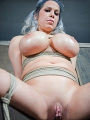 Alyssa Lynn has one of the craziest pairs of tits anyone has ever seen and Matt Williams