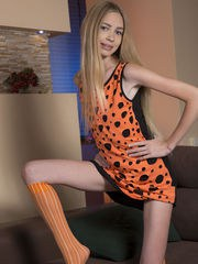 A wonderful teen doll like her just knows how to tease all her boys to the max and