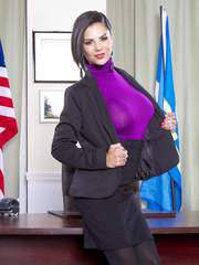 Bonnie Rotten getting fucked at the White House