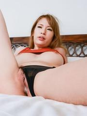 Nami Itoshino with big butt and big cans has twat fucked so well