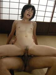 Nasty Japanese MiLF Aoba Itou pounded in all her holes