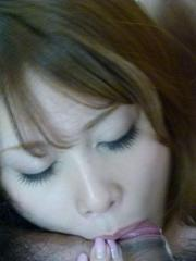 Rika Aiba Asian is aroused a lot and licks two dicks same time