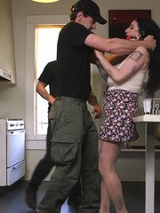 Ungrateful house wife Arabelle Raphael learns to be devoted to the dick.