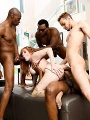 Lauren Phillips Sean Michaels Isiah Maxwell Moe The Monster Johnson