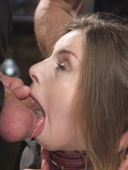 Bill Bailey sends his fat cock balls deep into Stellas pussy and ass and even further