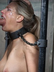 Angel Allwood and her booming body is back on the best Bondage and Rough Sex BaRS