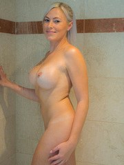 KJ IN THE SHOWER