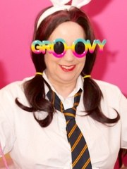 Hi Guys its Schoolgirl Trisha and Im all ready for Easter Ive got my Bunny Ears and