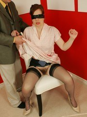 Blindfolded and groped