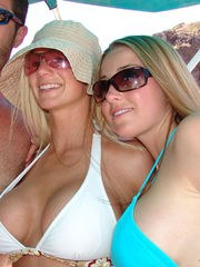 Join NaughtyAllie in a swinger exhibitionist outing on Lake ...