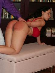 Mackenzie is spanked the more she blisses out.
