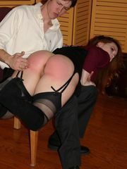 Redhead Summer Hart Get Her Big Ass Spank by Kyle