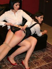 Elori Stix Gets Strapped and Caned by Snow Mercy