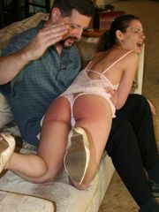 Ten Amorette Gets a Morning Spanking
