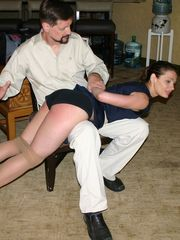 Ten Amorette Gets a Spanked From Her Hubby