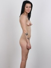 The brand new Czech amateur is a mother called Denisa. Slim brunette came here to