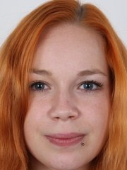 Do you want a redhead? Young pretty and horny? Then you can have Tereza 20 years
