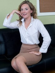 Mature Women Secretary