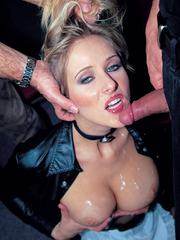 Blonde pornstars compilation with Silvia Saint and many more