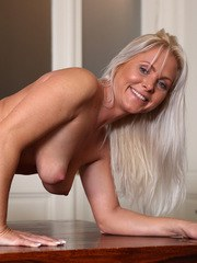Youre going to fall in love with Czech housewife Kathy Anderson a 37 year old milf