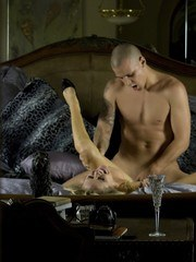 Sexy blonde Dyanna Lauren and her boy toy really have some magical chemistry and