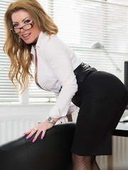 Office Tights Tease
