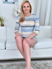 Hot Czech milf Lili Peterson is here to rock your world. The 41 year old housewife