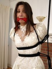 A Lovely Bride Bound And Gag