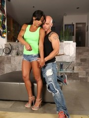 Some sexy boygirl action with the fit and beautiful Viana Milian.