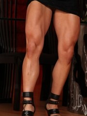 Welcome the strong and powerful Ripped Vixen! She shows off her extremely hot healthy