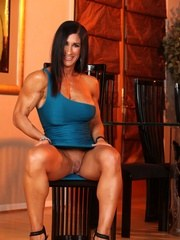 Elisa Ann Costa is such a beauty with such an awesome physique she could kick your