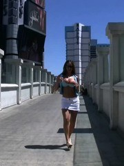 Mega hottie Nikki Jackson is in Las Vegas and is ready to put the sin in Sin City