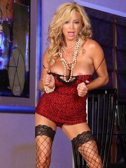 Rachel Aziani models off her sexy lingerie that a member sent to her. Hot stuff!