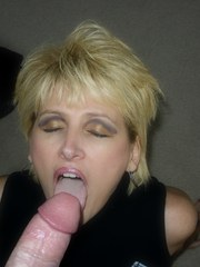 Housewife Racquel blows hubby to heaven with her deep throat cock sucking skills.